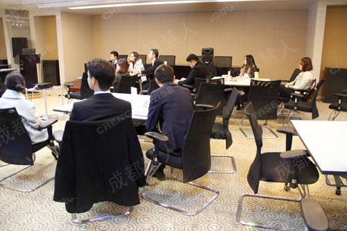 成都世龙实业有限公司2014年度房产专业知识研修之《签约逼定技巧》